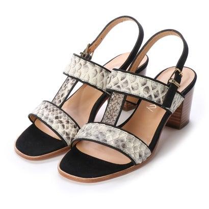 ヨーロッパコンフォートシューズ EU Comfort Shoes looky チャンキーヒールサンダル(4258-B) (ホワイト)