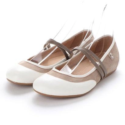 【アウトレット】ヨーロッパコンフォートシューズ EU Comfort Shoes Benvado バレーシューズ(32006) (オフホワイト)