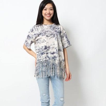 デシグアル Desigual Tシャツ半袖 ISLA (ホワイト)