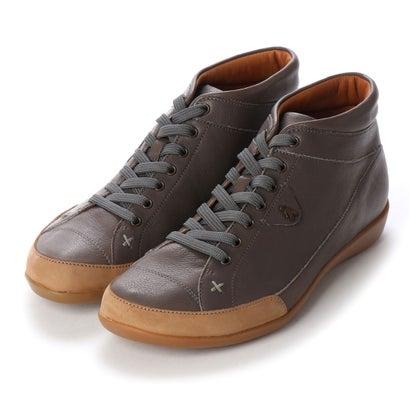 【アウトレット】ヨーロッパコンフォートシューズ EU Comfort Shoes Benvado ハイカットスニーカー(24052) (ダークネイビー)