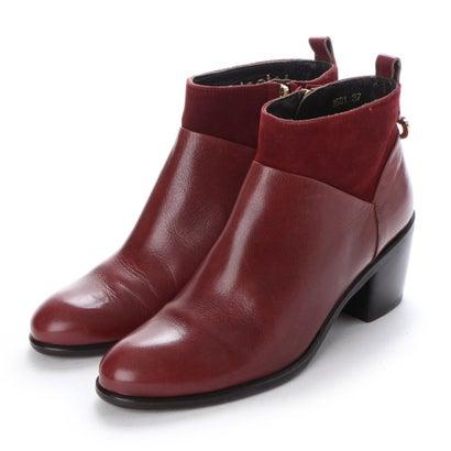 【アウトレット】ヨーロッパコンフォートシューズ EU Comfort Shoes looky ショートブーツ(3601-A) (ワイン)