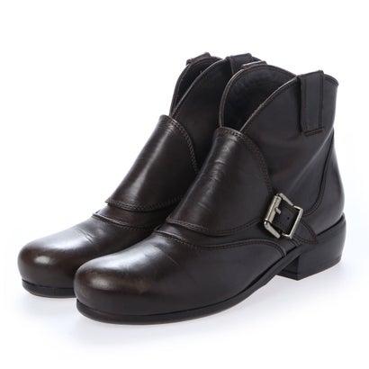 【アウトレット】ヨーロッパコンフォートシューズ EU Comfort Shoes looky ショートブーツ(0505-A) (ダークブラウン)