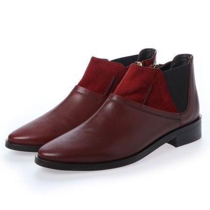 【アウトレット】ヨーロッパコンフォートシューズ EU Comfort Shoes looky ショートブーツ(3511-A) (ワイン)