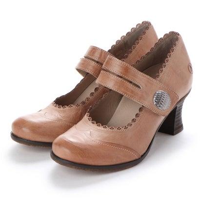 ヨーロッパコンフォートシューズ EU Comfort Shoes Casta 1本ベルトパンプス(CT100320) (ベージュ)
