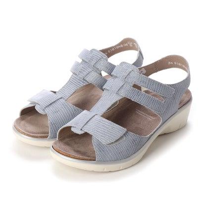 ヨーロッパコンフォートシューズ EU Comfort Shoes solidus サンダル(24002) (グレー)