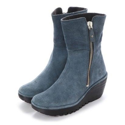 【アウトレット】ヨーロッパコンフォートシューズ EU Comfort Shoes FLYLONDON ショートブーツ(500.668) (ブルー)