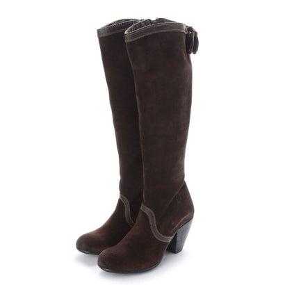 【アウトレット】ヨーロッパコンフォートシューズ EU Comfort Shoes FLYLONDON ロングブーツ(142.675) (ダークブラウン)