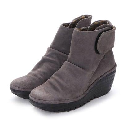 ヨーロッパコンフォートシューズ EU Comfort Shoes FLYLONDON ショートブーツ(500.689) (グレー)