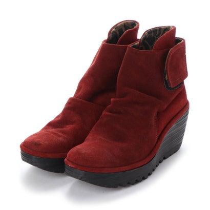 【アウトレット】ヨーロッパコンフォートシューズ EU Comfort Shoes FLYLONDON ショートブーツ(500.689) (ダークグレー)