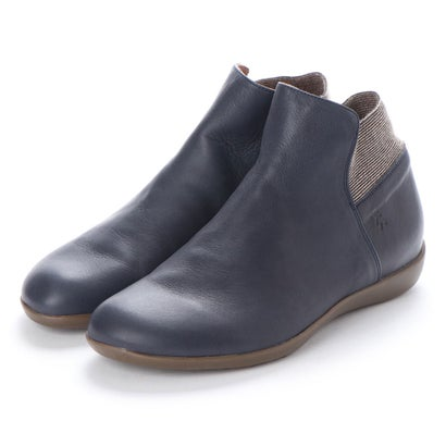 【アウトレット】ヨーロッパコンフォートシューズ EU Comfort Shoes Benvado ショートブーツ(30010) (ネイビー)