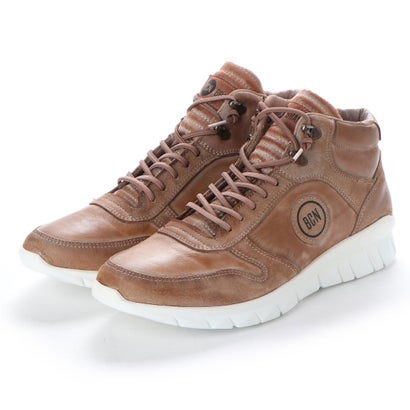 【アウトレット】ヨーロッパコンフォートシューズ EU Comfort Shoes BCN ハイカットスニーカー(C-1040) (ブラウン)