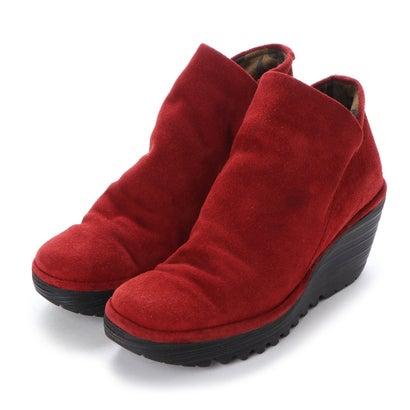 【アウトレット】ヨーロッパコンフォートシューズ EU Comfort Shoes FLYLONDON ショートブーツ(YIP500.505) (ワイン)