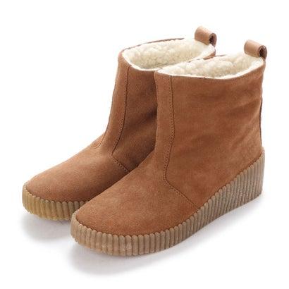 【アウトレット】ヨーロッパコンフォートシューズ EU Comfort Shoes FLYLONDON ショートブーツ(601.228) (ライトブラウン)