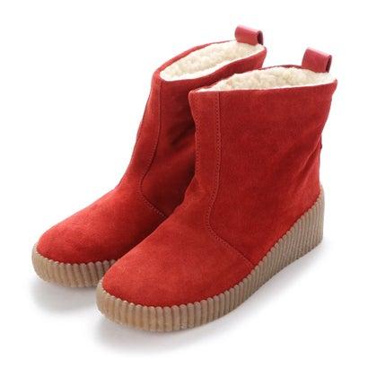 ヨーロッパコンフォートシューズ EU Comfort Shoes FLYLONDON ショートブーツ(601.228) (レッド)