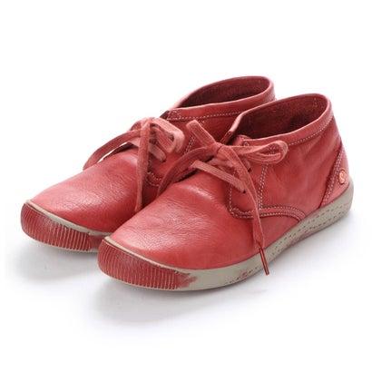 【アウトレット】ヨーロッパコンフォートシューズ EU Comfort Shoes Softinos ハイカットスニーカー(900.161) (レッド)