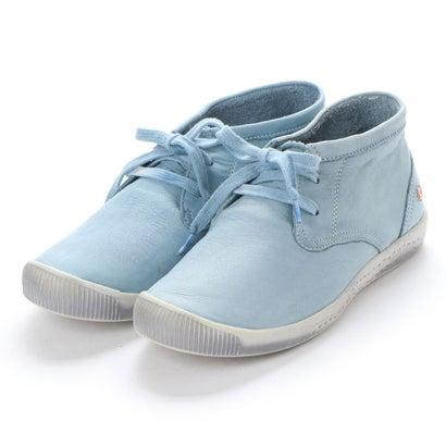 【アウトレット】ヨーロッパコンフォートシューズ EU Comfort Shoes Softinos ハイカットスニーカー(900.161) (ライトブルー)