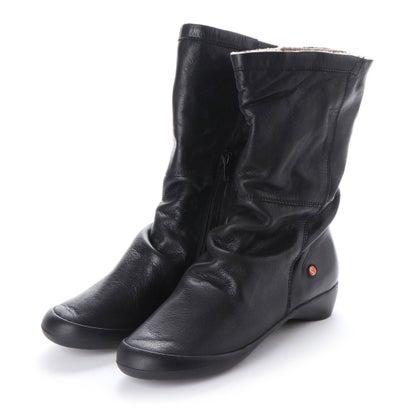 【アウトレット】ヨーロッパコンフォートシューズ EU Comfort Shoes Softinos ミドルブーツ(900.342) (ブラック)