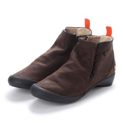 【アウトレット】ヨーロッパコンフォートシューズ EU Comfort Shoes Softinos ショートブーツ(900.489) (ダークブラウン)