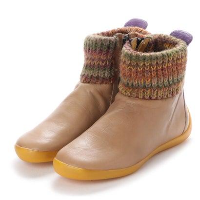 【アウトレット】ヨーロッパコンフォートシューズ EU Comfort Shoes Softinos ショートブーツ(900.289) (ライトブラウン)