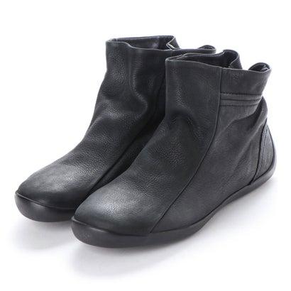 【アウトレット】ヨーロッパコンフォートシューズ EU Comfort Shoes Softinos ショートブーツ(900.341) (ブラック)