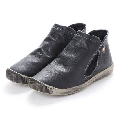 【アウトレット】ヨーロッパコンフォートシューズ EU Comfort Shoes Softinos ショートブーツ(900.086) (ブラック)