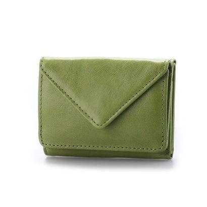 イグジスタンス EXISTENCE オイルレザーミニ財布 (グリーン)