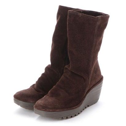 【アウトレット】ヨーロッパコンフォートシューズ EU Comfort Shoes FLYLONDON ミドルブーツ(500.504) (ブラウン)