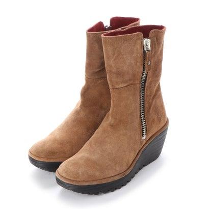 あす楽 交換 返品可能 ヨーロッパコンフォートシューズ EU Comfort Shoes FLYLONDON 500.668 ロコンド レディースシューズ セール特別価格 コンフォートシューズ ショートブーツ 優先配送 ブラウン