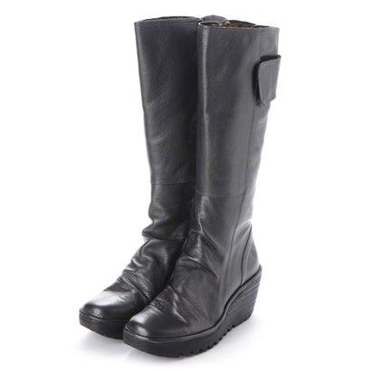 【アウトレット】ヨーロッパコンフォートシューズ EU Comfort Shoes FLYLONDON ロングブーツ(500.688) (グレー)