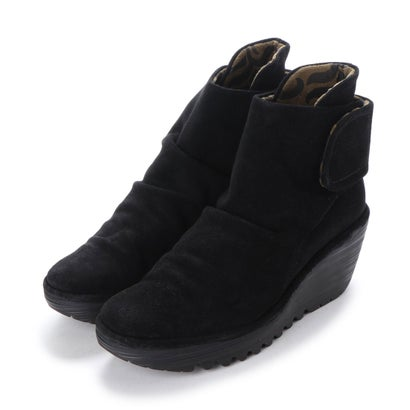 【アウトレット】ヨーロッパコンフォートシューズ EU Comfort Shoes FLYLONDON ショートブーツ(500.689) (ブラック)