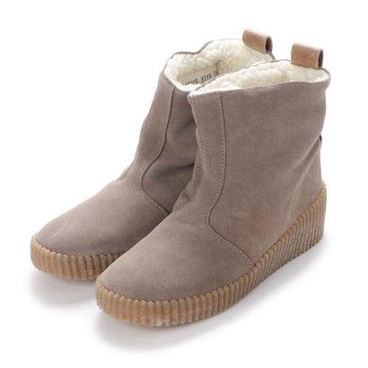 【アウトレット】ヨーロッパコンフォートシューズ EU Comfort Shoes FLYLONDON ショートブーツ(601.228) (グレー)