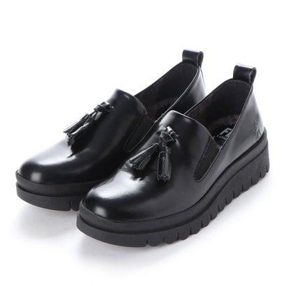 【アウトレット】ヨーロッパコンフォートシューズ EU Comfort Shoes FLYLONDON ローファー(143.793) (ブラック)