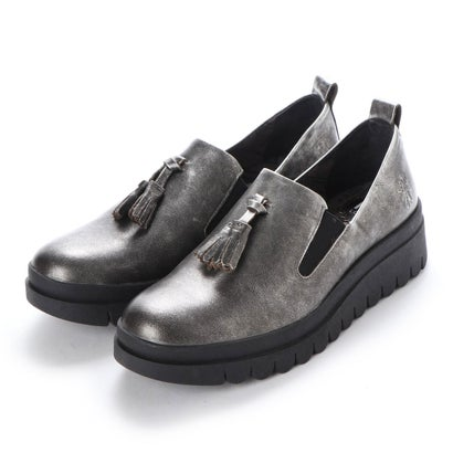 【アウトレット】ヨーロッパコンフォートシューズ EU Comfort Shoes FLYLONDON ローファー(143.793) (ダークグレー)