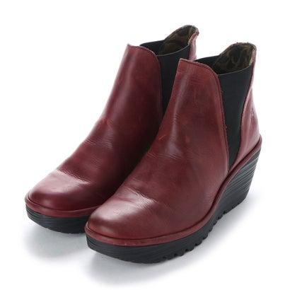【アウトレット】ヨーロッパコンフォートシューズ EU Comfort Shoes FLYLONDON ショートブーツ(500.431) (レッド)