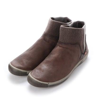 【アウトレット】ヨーロッパコンフォートシューズ EU Comfort Shoes Softinos ショートブーツ(900.011) (ブラウン)