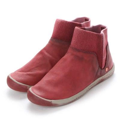 【アウトレット】ヨーロッパコンフォートシューズ EU Comfort Shoes Softinos ショートブーツ(900.011) (レッド)