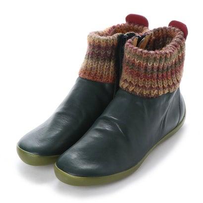 【アウトレット】ヨーロッパコンフォートシューズ EU Comfort Shoes Softinos ショートブーツ(900.289) (グリーン)