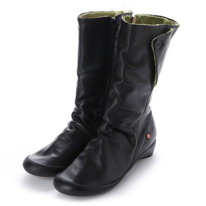 【アウトレット】ヨーロッパコンフォートシューズ EU Comfort Shoes Softinos ロングブーツ(900.212) (ブラック)