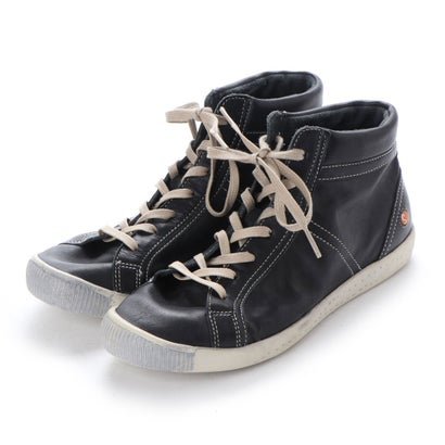 【アウトレット】ヨーロッパコンフォートシューズ EU Comfort Shoes Softinos ハイカットスニーカー(900.064) (ブラック)