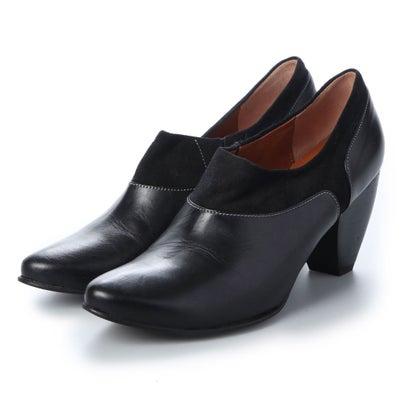 【アウトレット】ヨーロッパコンフォートシューズ EU Comfort Shoes looky ミドルヒールパンプス(2684-A) (ブラック)