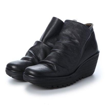 ヨーロッパコンフォートシューズ EU Comfort Shoes FLYLONDON ショートブーツ(500.505) (ブラック)