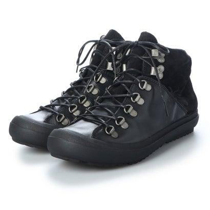 【アウトレット】ヨーロッパコンフォートシューズ EU Comfort Shoes FLYLONDON ハイカットスニーカー(601.222) (ブラック)