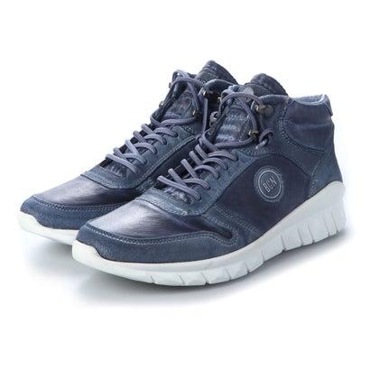 【アウトレット】ヨーロッパコンフォートシューズ EU Comfort Shoes BCN ハイカットスニーカー(C-1040F) (ブルー)