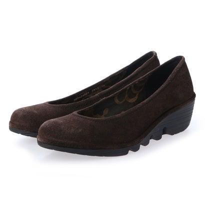 【アウトレット】ヨーロッパコンフォートシューズ EU Comfort Shoes FLYLONDON パンプス(500.424) (ダークブラウン)