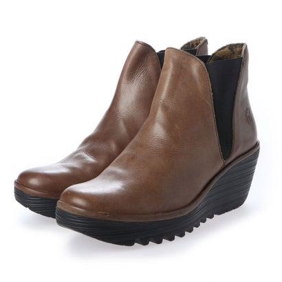 【アウトレット】ヨーロッパコンフォートシューズ EU Comfort Shoes FLYLONDON ショートブーツ(500.431) (ブラウン)