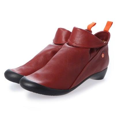 【アウトレット】ヨーロッパコンフォートシューズ EU Comfort Shoes Softinos ショートブーツ(900.085) (レッド)