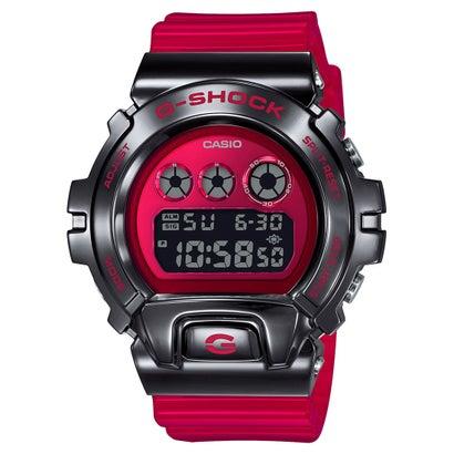 【G-SHOCK】6900シリーズ / メタルベゼル / GM-6900B-4JF (レッド×ブラック)