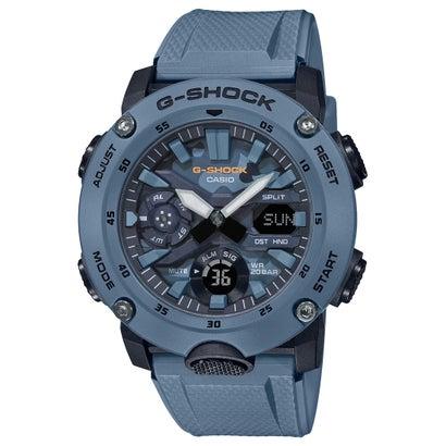 【G-SHOCK】Utility Color(ユーティリティ・カラー) / GA-2000SU-2AJF / カーボンコアガード (ブルー×ブルーカモフラージュ)