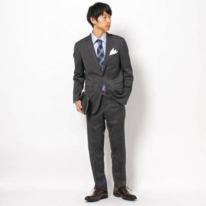 ザ ショップ ティーケーメンズ THE SHOP TK(Men) 【洗濯機OK】ピンヘッドスーツ (グレー)