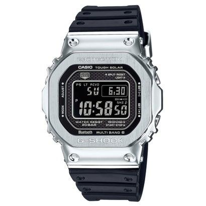 【G-SHOCK】フルメタルケース / 電波ソーラー / GMW-B5000-1JF (ブラック×シルバー)
